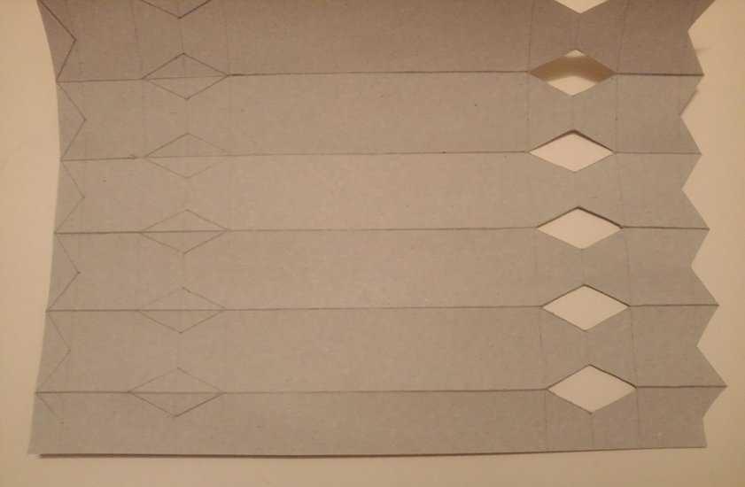 МК Конфеты из картона 3