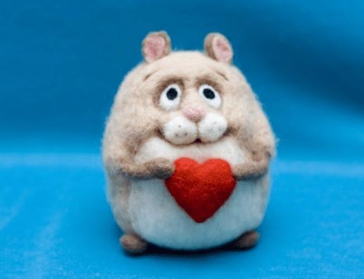 Влюбленный хомяк