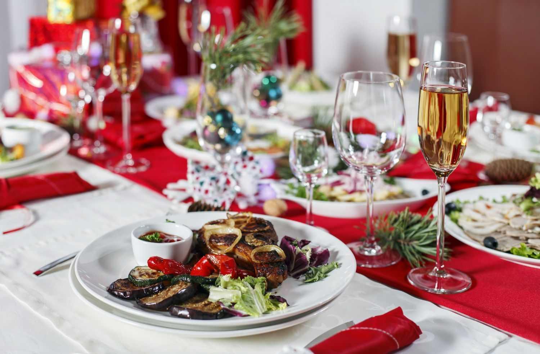 Новогодние блюда 2020